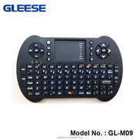 New HOT selling 2.4G qwerty full function mini gaming wireless keyboard and mouse. combo with touchpad remote