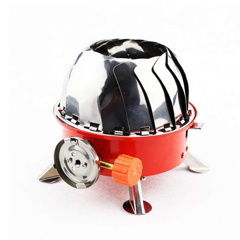High Quality Stove Outdoor Windproof Stove Lotus Furnace Tourist Gas Tile  GS-01-3