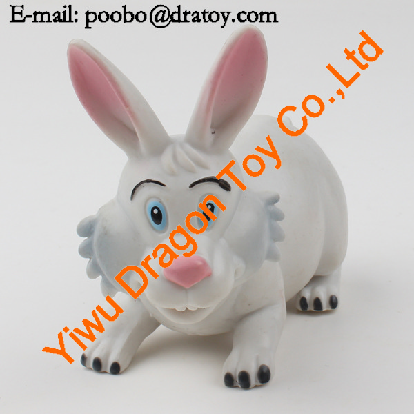 supply popular cartoon figure rabbit toy for babys