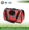 BSCI QingQ Factory cheap portable soft sided dogs pet carrier car bag