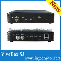 new shell vivobox s3 nagra 3 decodificadors with free iks sks twin tuner hd 1080p receiver satellite
