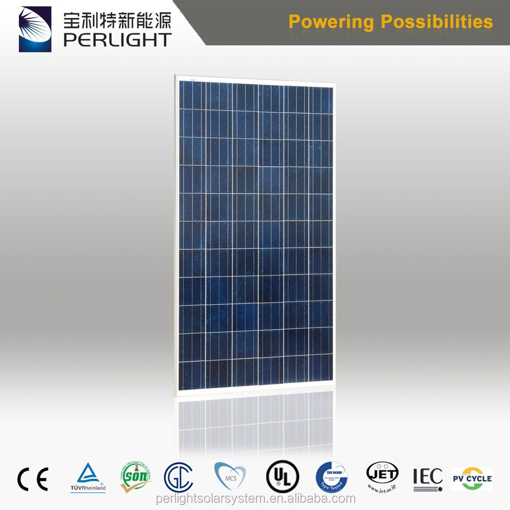 Perlight hot sale solar panel price 310w 315w 320w 325w polycrystalline for solar off grid system
