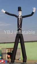 cute and funny air dancer inflatable dancing man