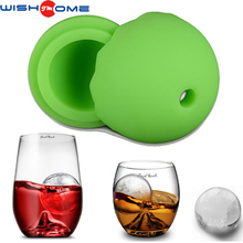 JianMei brand FDA ice ball mold wholesaler high quality good price creative circle silicone ice mold