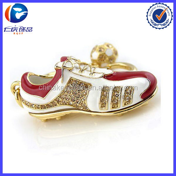 Wholesale High Quality Running Shoe Keychain