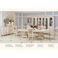 Classic Dining Table Wooden Furniture Dinning