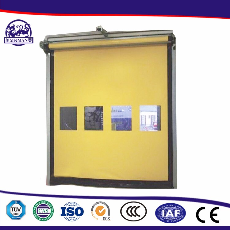 China New Technology Product Pvc Automatic Rolling Up Door Made In China