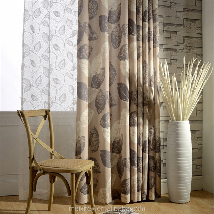 2016 Ready Made Tulle Printed Roller draperies Balcony Bedroom Curtain