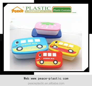 2014 promotional 3pcs smile seal plastic food container