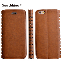 leather material case for samsung galaxy s6 edge factory sale low price