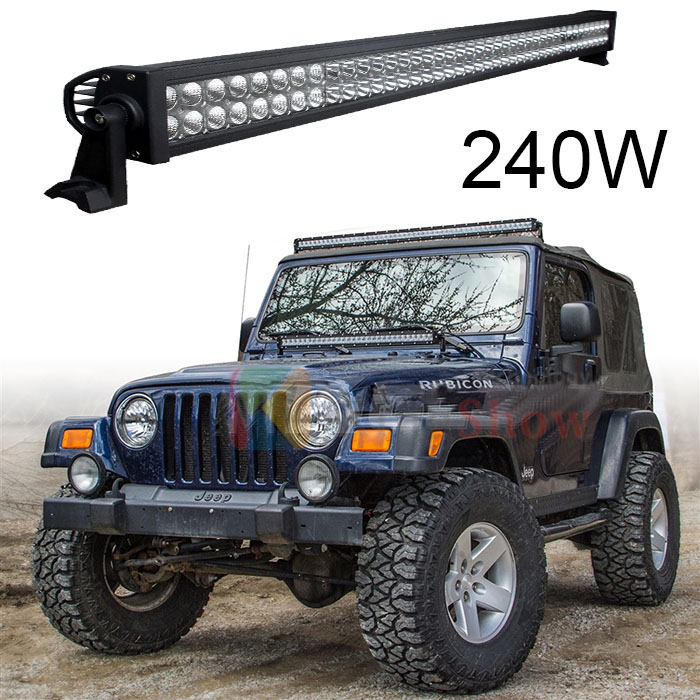 Wholesale 42inch 12V Waterproof Offroad Led Light Bar for Trucks 4x4