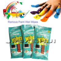 2014 OEM acetone wipes for remove paint from hands and nail polish remover