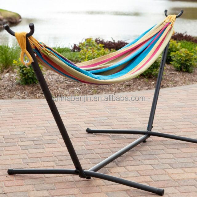 Cotton Double Free Standing Hammock Single Yoga Swing Bed Hanging Chair