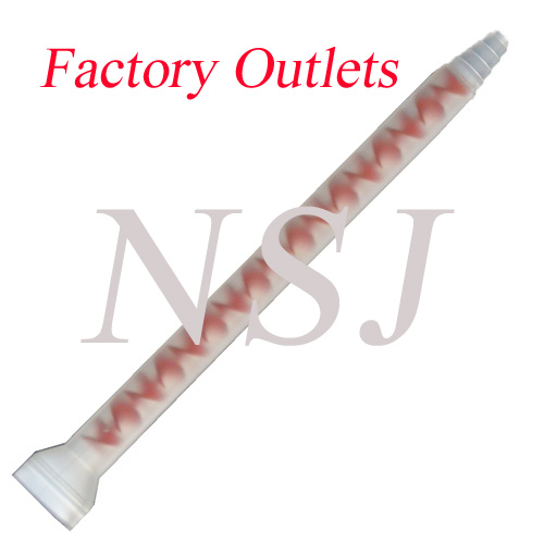 SM8-17 Plastic marble mixer element for AB Arylic Adhesives in Marble& Solid Surface