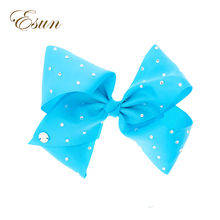 Wholesale cute baby hair bows make hair accessories for baby girls