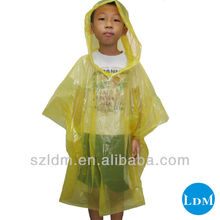 2012 Disposable Rain Poncho for USA market,rain ponchos cheap,ashionable rain poncho