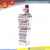 4 tier wine display stand