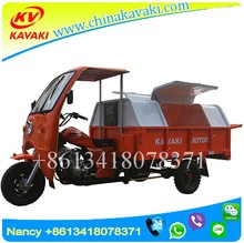 KAVAKI cheaper Loading Garbage Truck Three Wheels Street Cleaner Tricycle