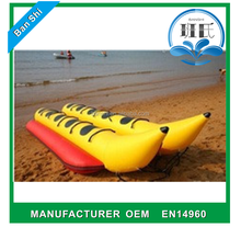 Commercial inflatable banana boat, rigid infalable boats, inflatable banana boat for sale
