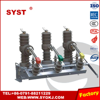 ZW32-12 solid seal with ground protection type vcb - vacuum circuit breaker