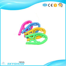 High-ranking Plastic folding coat hanger tree