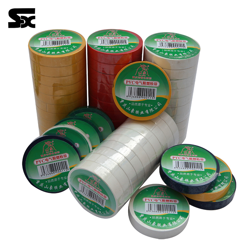 Cheap Safety Insulation and high voltage resistant pvc duct tape
