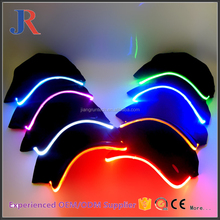 Fashion high quality cheap custom led light caps and hats led dad hat wholesale