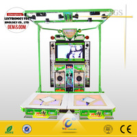 3D Passing Through Body Motion Sencing Dancing Game Machine