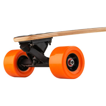The Orange and Self balancing electric skateboard