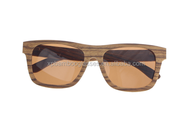 High Quality OEM Fashion Oversized Wooden Sunglasses 2018 For Women