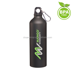750ml Cheap Matte Finish Aluminium Water Bottle