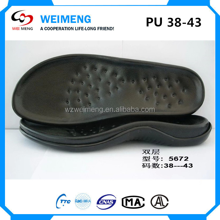 Fashionable men shoes sandals Pu sole design for slippers