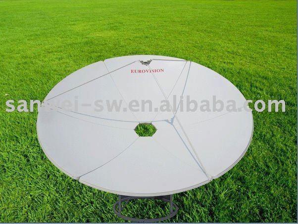 c band 240cm tv dish satellite antenna