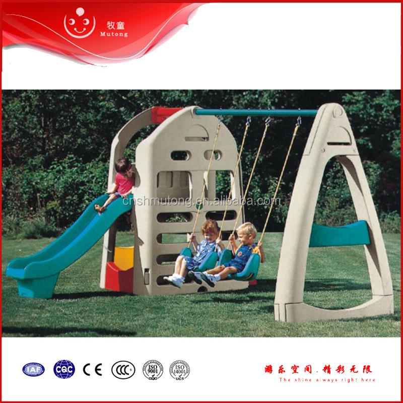Indoor Kids Plastic Play Set Slide And Swing Buy Kids