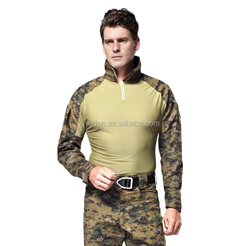 OEM olive green DIGITAL desert Camouflage Frog Suits CANADIAN army military uniform