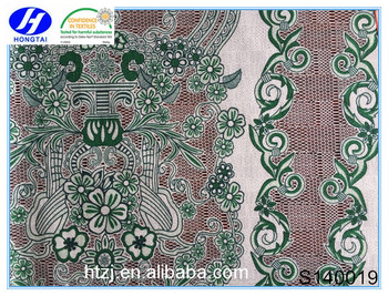 new design fashional burnt-out solid lace for all ladies' garment accessories