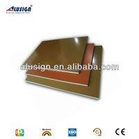 Alusign copper wall cladding