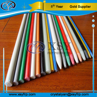 Hot Sale Pultruded Fiberglass Posts For Vineyards Support Poles