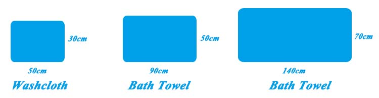 Soft 100% cotton jacquard chair bed towel and cotton sport towel