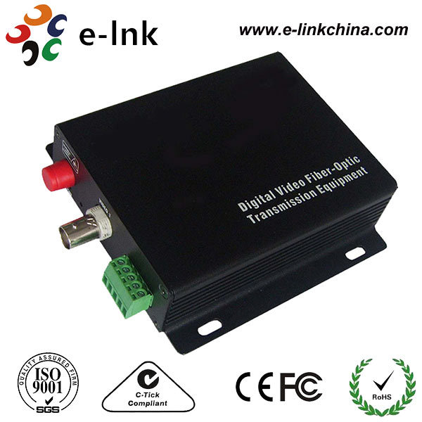 single fiber network video converter