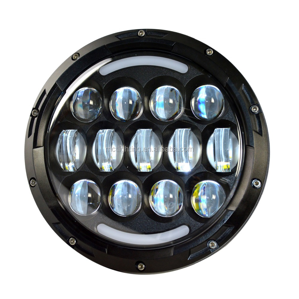 LED Driving Lights Harley motorcycle 78w Spot Off road 7inch 4x4 4wd led offroad driving lights Replace HID 12v 24v cars trucks
