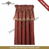 Hotel blackout design curtain Jacquard curtain for living room