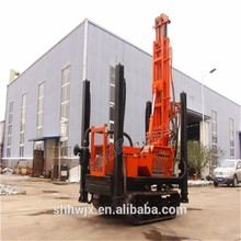 Full hydraulic Small track mounted portable water well drilling rig
