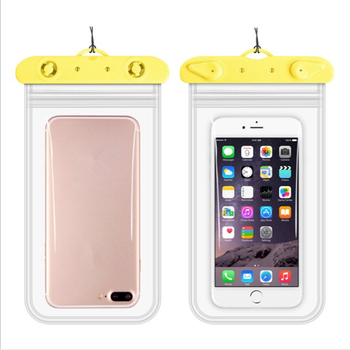 New Four-sided double-layer waterproof bag PVC waterproof mobile phone bag Transparent mobile phone waterproof case