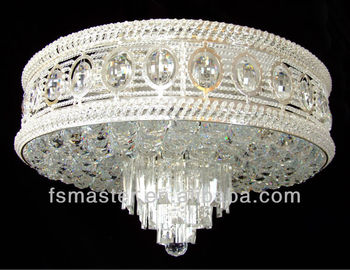 2013 new design silver luxury crystal ceiling light chandelier light for hotel/hall/villa