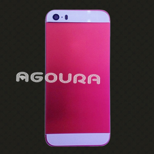 2017 Newest ultra-thin phone housing,colourful oxidation back housing for iPhone5 5S