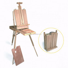 Antique Painting Easel Sketch Box Easel French Easel