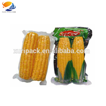 Vacuum Cooking Bags Printed transparent Plastic Boiling Bags for Corn Packaging
