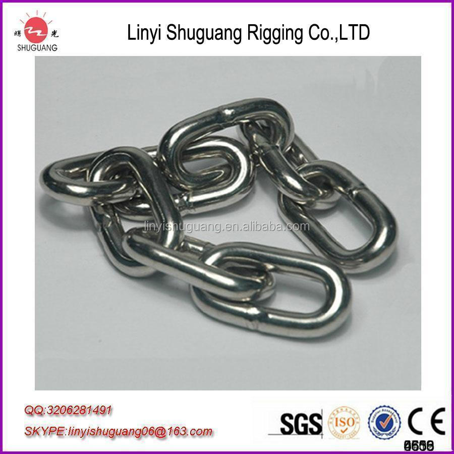 galvanized link chain steel wire rope metal chain iron chain