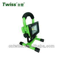 10W 20W portable rechargeable led stand work light